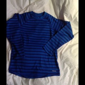 😀Patagonia long sleeve striped top😀